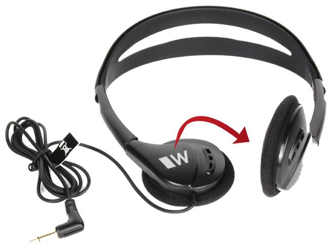 hed 021 with flipped earpiece